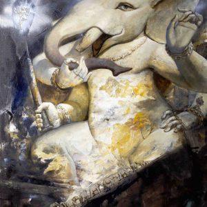 Lord Ganesh Artwork Medium