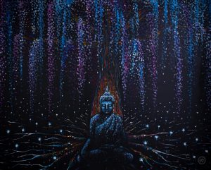 Winter Buddha - Absorbing Energy Large