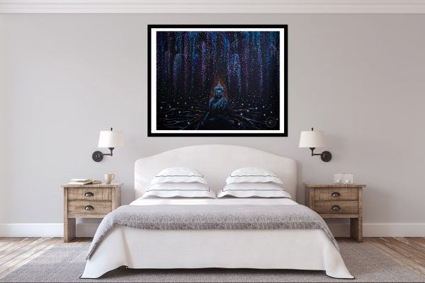 Winter Buddha - Absorbing Energy Wall Decor 2