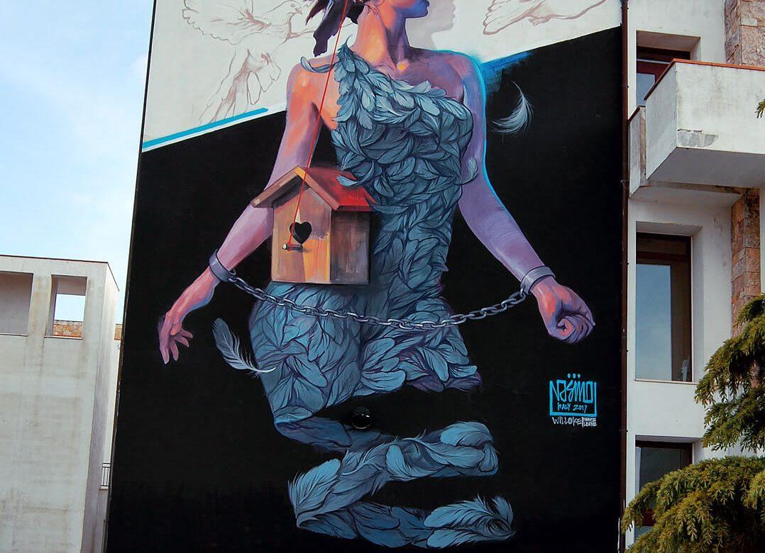 Monte-Leone-Italy Mural
